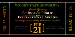 Grand Opening of the School of Public & International Affairs (SPIA)