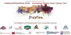 Hire Southwest Ohio Alumni-Only Career Fair