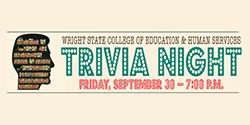College of Education and Human Services Trivia Night