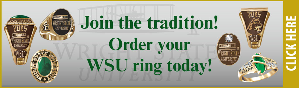Wright State Alumni Rings Now Available
